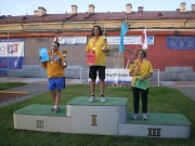 Алёна Захарова завоевала серебро на ЧМ-2011